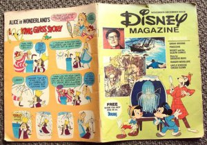 DISNEY Magazine GROUCHO MARX Pinocchio UNCLE SCROOGE 66