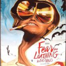 FEAR AND LOATHING IN LAS VEGAS Original Rolled Double Sided  Poster  JOHNNY DEPP