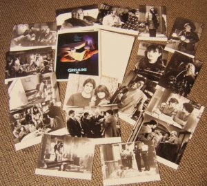 GREMLINS Press Kit 17 PHOTO'S Phoebe Cates ZACH GALLIGAN Studi ORIGINAL Presskit