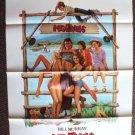 MEATBALLS Original 1-Sheet POSTER Camp '79 BILL MURRAY Teen Sex