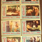 ASSAULT ON A QUEEN Frank Sinatra VIRNA LISI Lobby Card Set of 8 Originals