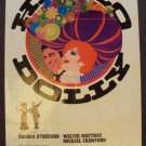 BARBRA STREISAND Original HELLO DOLLY!  1-Sheet POSTER Original