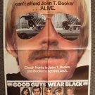 CHUCK NORRIS Original GOOD GUYS WEAR BLACK Movie POSTER