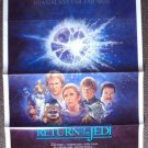 RETURN OF THE JEDI Original 1985 Movie POSTER Star Wars Saga SCIENCE-FICTION