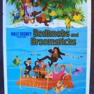 BEDKNOBS AND BROOMSTICKS Original 1-Sheet DISNEY Poster ANGELA LANSBURY Animated