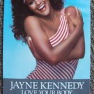 JAYNE KENNEDY Love Your Body SEXY Aerobic COUNTER Display Sign MINT Unused CAMPY