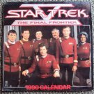 STAR TREK The FINAL FRONTIER V Color PHOTO Calendar 1990 WILLIAM SHATNER Spock