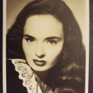 ANN BLYTH Original Studio PHOTO Blythe AUTOGRAPH Signed