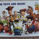 Toy Story JAPAN Postcard WOODY Buzz Lightyear STINKY PETE Bo Peep ALIEN Jessie