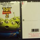 Toy Story LGM Alien men JAPAN Postcard DISNEY Japanese