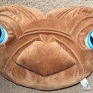 E.T Extra Terrestrial Stuffed ET PILLOW Doll Plush CUSHION Steven Spielberg HEAD