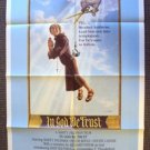 IN GOD WE TRU$T Original 1-Sheet Movie POSTER  MARTY FELDMAN  Trust Holy MONK