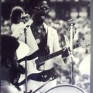 IKE TURNER Original 1973 PHOTO in Concert Guitar  TINA Photo by CHUCK PULIN