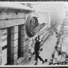 HAROLD LLOYD Photograph Clock Tower PHOTO scene HANGING