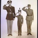 DADDY & Son  SALUTE  Jackie BUTCH Jenkins  ARMY BRAT   Mr. JIM Origina l PHOTO