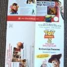 Toy Story 2  HOLLYWOOD Invitation WOODY Buzz Lightyear