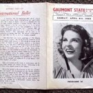 MARTHA RAYE  Original 1948 Europe Luxury Theatre Program GAUMONT STATE