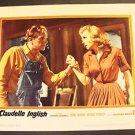 CLAUDELLE INGLISH Original PHOTO Lobby Card DIANE McBAIN Warner Bros Studios