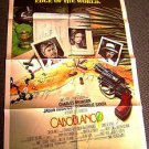 CABOBLANCO Original 1-SHEET Poster CHARLES BRONSON Jason Robards CABO BLANCO &#39;80