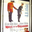 WALTZ OF THE TOREADORS 1-Sheet Poster PETER SELLERS French Canadian 1962