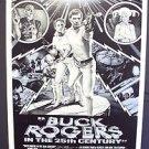 BUCK ROGERS in the 25th Century COLLEGE mini-Poster GIL GERARD Erin Gray SCI-FI