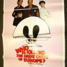 WHO IS KILLING THE GREAT CHEF'S OF EUROPE 1-Sheet Movie POSTER Jacqueline Bisset