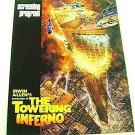 IRWIN ALLEN The TOWERING INFERNO Original SCREEN PROGRAM Steve McQueen Disastor