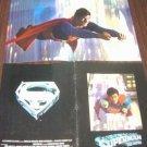 SUPERMAN Original Color PHOTO Souvenier Program CHRISTOPHER REEVE Clark Kent '79