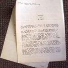 VAN JOHNSON Original WARNER BROS. Studios BIOGRAPHY Document 60 YEARS OLD!!!