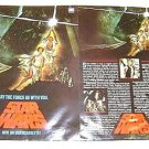 STAR WARS Original 1st ISSUE Promo Double Sided Color FLYER  George Lucas