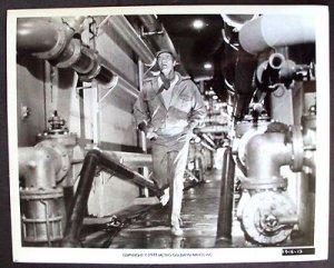 SOYLENT GREEN Beefcake ORIGINAL PHOTO Charlton Heston RUNNING Universal Studios