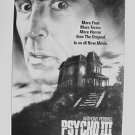 PSYCHO III 1st CONCEPT Artwork  POSTER House ANTHONY PERKINS 3 1986 Norman Bates
