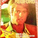 ROBERT REDFORD Giant SPANISH Color Photo POSTER Souvenir MAGAZINE All Devoted