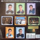 NSYNC Mint PULL-OUT POSTER BOOK Justin Timberlake N SYNC JC Chasez LANCE BASS