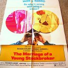 MARRIAGE OF A YOUNG STOCKBROKER Voyeur Original 1-Sheet POSTER Richard Benjamin