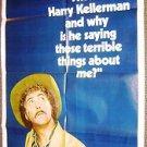 DUSTIN HOFFMAN Original WHO IS HARRY KELLERMAN? Original 1-SHEET Movie Poster