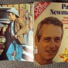 PAUL NEWMAN Giant SPANISH Color Photo POSTER Souvenir MAGAZINE All Devoted