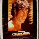 JOHN TRAVOLTA Printer Proof STAYING ALIVE Movie POSTER Saturday Night Fever  II