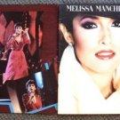 MELISSA MANCHESTER Original CONCERT PROGRAM Color Photo Images