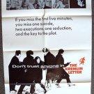 JOHN HUSTON The KREMLIN LETTER Original 1-Sheet POSTER Nigel Green RICHARD BOONE