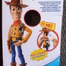 Toy Story Sheriff WOODY EMPTY Box for MATTEL Doll NOT SOLD IN US Talking Figure