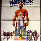 YUL BRYNNER The ULTIMATE WARRIOR Original 1-Sheet Movie POSTER Max Von Sydow
