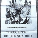 DAUGHTER OF THE SUN GOD Original  1-Sheet POSTER Lisa Montell 1962