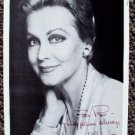 ANNE JEFFREYS Original SIGNED and Handwritten AUTOGRAPH  PHOTO Postcard TOPPER