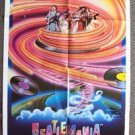 BEATLEMANIA Original Movie 1-Sheet Movie POSTER Fab FOUR The BEATLES 1980
