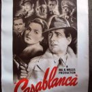 CASABLANCA Rolled  POSTER Ingrid Bergman HUMPHREY BOGART Vintage Looking Like