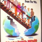 The BRADY BUNCH Original ROLLED 1-Sheet Movie Poster GARY COLE Shelley Long 1995