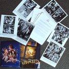 GEPPETTO Press Kit PINOCCHIO USHER RAYMOND Photo DISNEY Drew Carey JULIA DRYFUSS