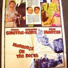 MARRIAGE ON THE ROCKS Original 1-Sheet Movie Poster DEBORAH KERR Frank Sinatra