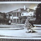 SONJA HENIE Original UNIVERSAL STUDIOS Photo AT HOME Press Snipe MONTE CRISTO